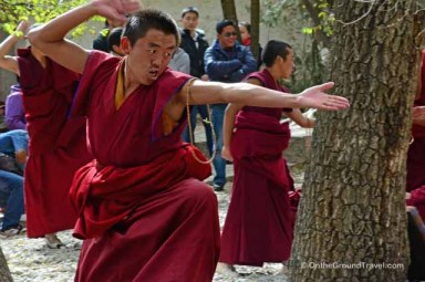 trip to tibet travel - Sera Monastery - Monk Debate