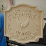 Routing - Custom Wall Plaque