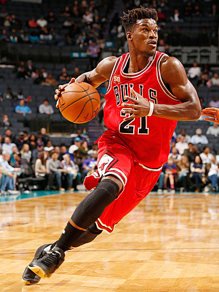 Jimmy Butler has firmly established himself as an MVP candidate and the leader of the Chicago Bulls. (Jsteperry/Wikimedia Commons)