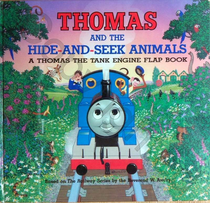 Thomas and the Hide and Seek Animals | On the Rail Books