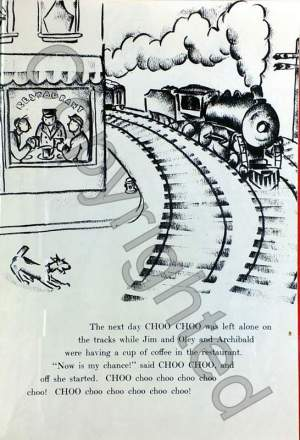 Choo Choo - Children's Railroad Story
