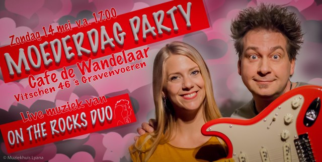 Moederdag Party 2017 in Cafe de Wandelaar