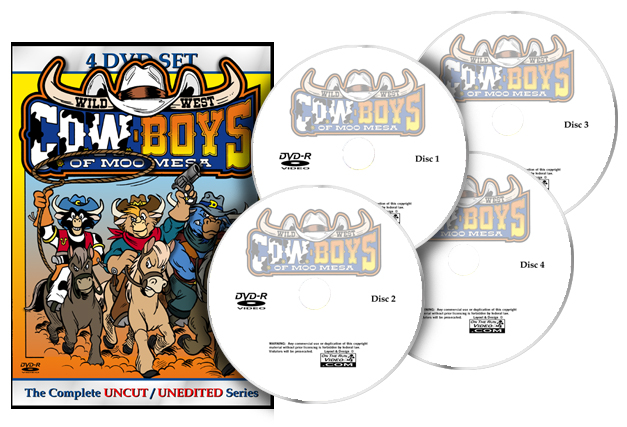 C O W Boys Of Moo Mesa Complete Series