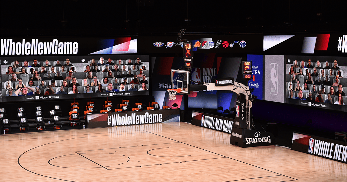 NBA and Microsoft - Together Mode