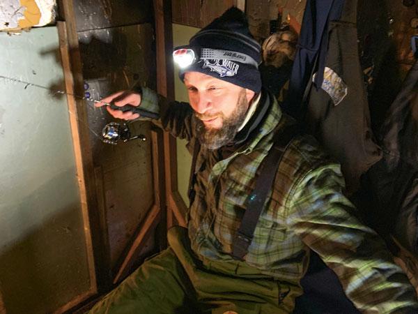 Eddy Stahowiak smelting