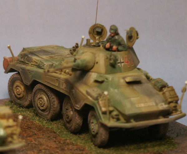 Hasegawa 1/72nd Scale Sd.Kfz. 234/2 Construction Review