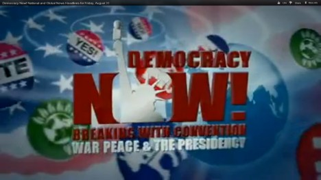 Green Party on Democracy Now