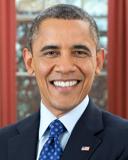 44th US President Barack Obama