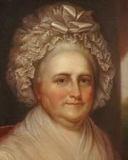1st US First Lady Martha Washington