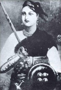Jhansi Ki Rani Portrait