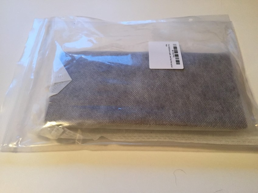 Leather wallet in original packaging
