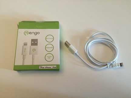 Mengo White Lightning USB Cable Review