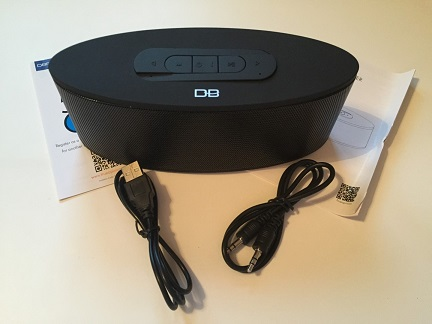 Bluetooth Speaker Package Contents
