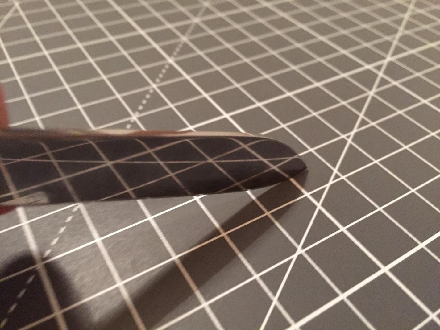 Cutting the Cutting Mat