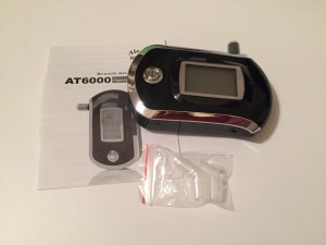 Breathalyser Package Contents