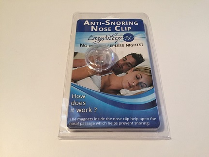 Snoring Clip Packaging