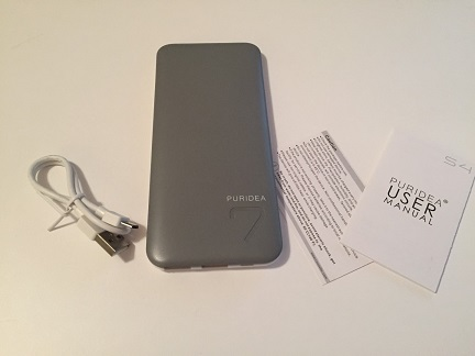Puridea S4 6600mAh Portable Charger Review