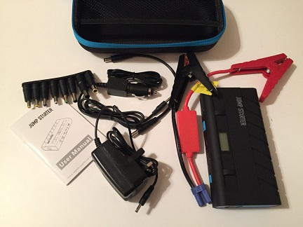 VicTop Jump Starter / Power Bank Review