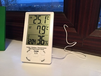 BestFire Indoor / Outdoor Thermometer and Hygrometer Review