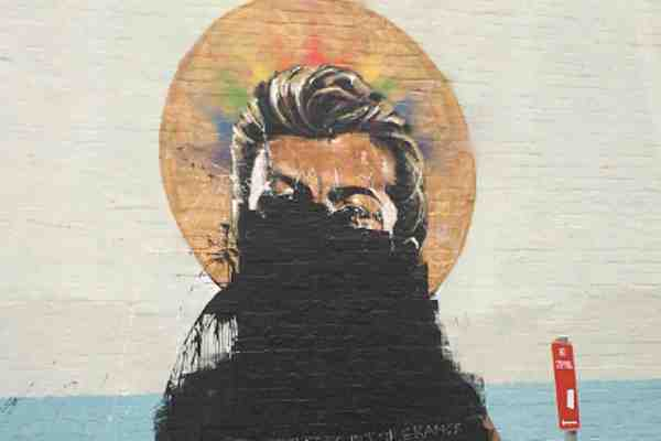 George Michael Mural Vandalized After Australians Vote For ...