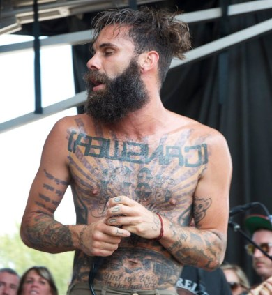 Letlive - Vans Warped Tour // Photo courtesy of Gilbert Velasquez ©2013