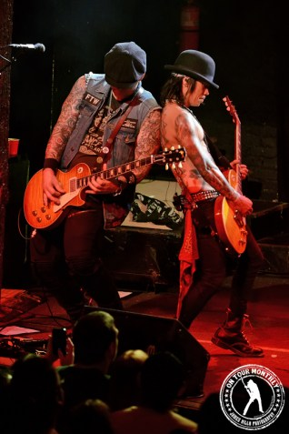 Keith Nelson and Stevie Dacanay - Buckcherry (Trees - Dallas, TX) 9/8/13 ©2013 James Villa Photography, All Rights Reserved