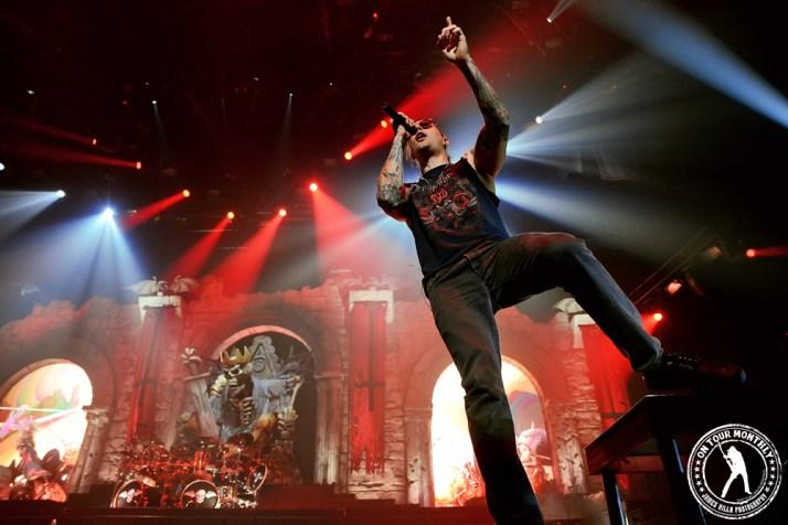 Avenged Sevenfold (Chesapeake Arena - Oklahoma City, OK) 10/23/13