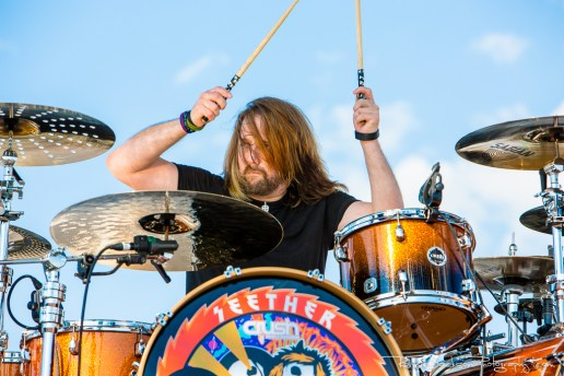 John Humphrey - Seether - Fort Rock 2014