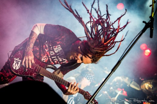 "Brian ""Head"" Welch - Korn - Fort Rock 2014"
