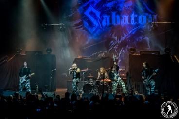 Sabaton (The Bomb Factory - Dallas, TX) 5/5/15