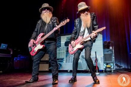 ZZ Top (Music Hall at Fair Park - Dallas, TX) September 4, 2015