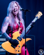 Lita Ford (The Rail Club - Fort Worth, TX) 2/14/16 ©2016 James Villa Photography, All Right Reserved