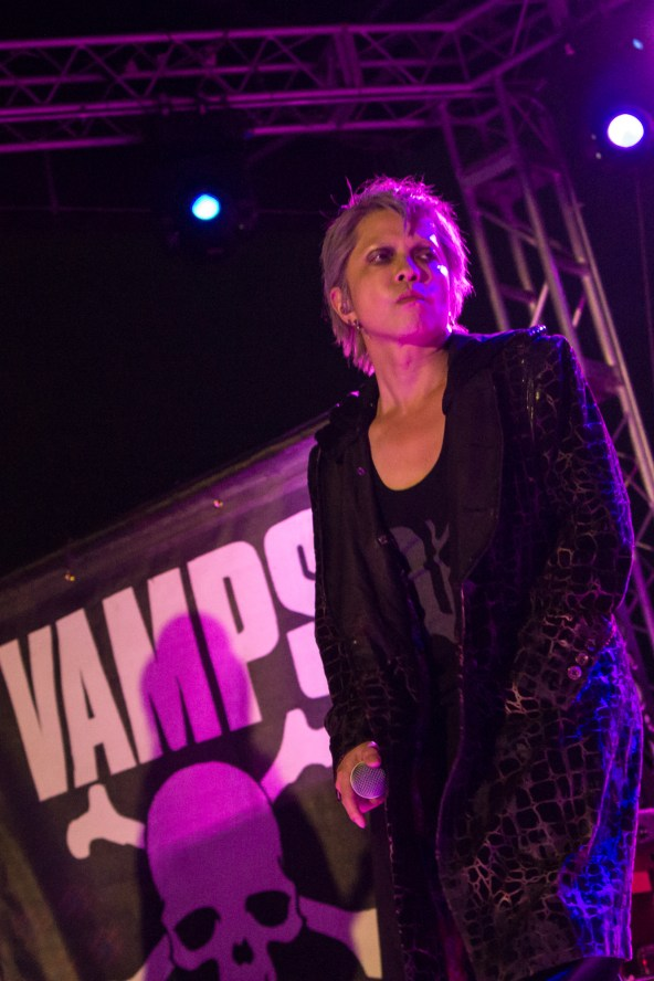 VAMPS performing at the Gas Monkey Bar and Grill in Dallas, TX on May 22nd, 2017.