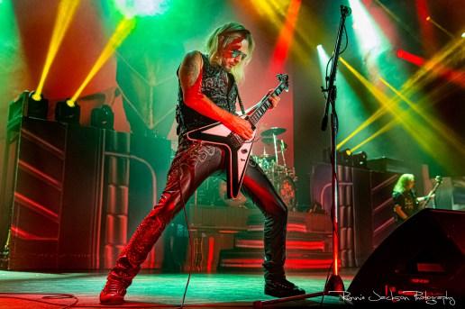 Richie Faulkner / Judas Priest / The Bomb Factory / Dallas TX / 5-31-2019