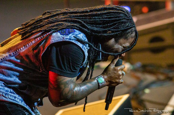 Lajon Witherspoon - Sevendust - The Bomb Factory - Dallas TX - 9-8-2019