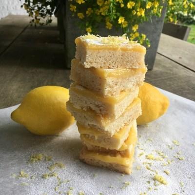 Lemon shortbread bars 5_ontroerendlekker.nl