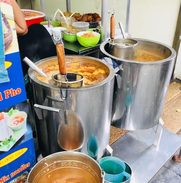 4-gangen Vietnamees menu