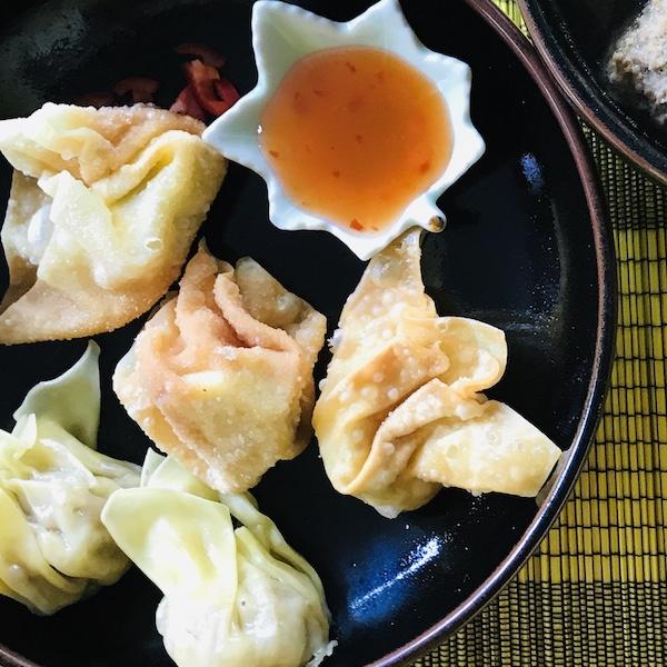 Wontons, dumplings of pangsit?