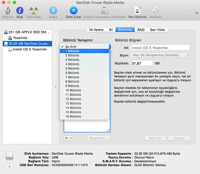 Disk Utility - 2