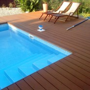 Long lasting composite decking boards