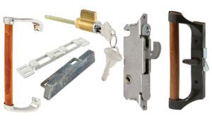 components for sliding patio door