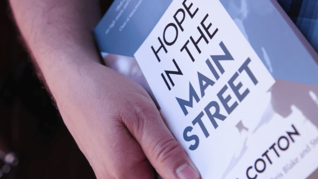 Book launch for Hope in the Main Street