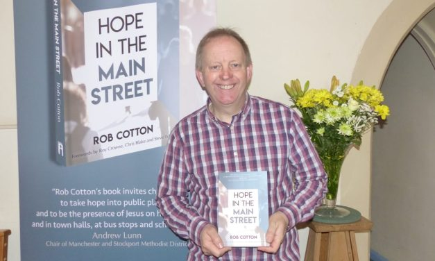 Free book launch event tomorrow in Knutsford