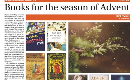 Book about Advent receives glowing review in The Church Times