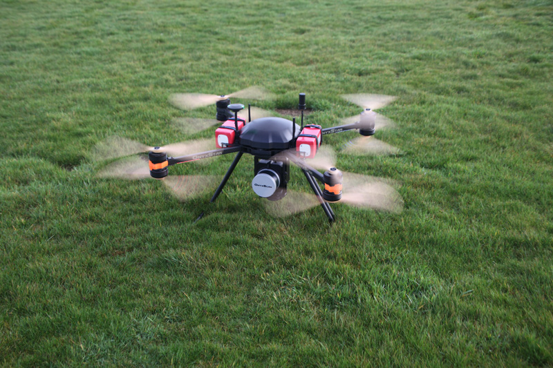 FOX C8 LiDAR Scanner 800 - OS-1 Aerial LiDAR