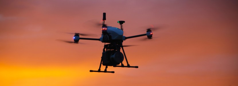 Levé LiDAR par drone