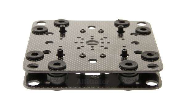 onyxstar oxg 160 carbon adapter plate frame chassis support nacelle gimbal 1 - Camera mounts adapters