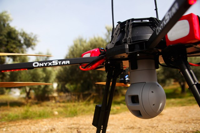 Surveillance drone - OnyxStar, security UAV
