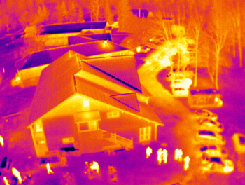 Drone thermal imagery - UAV thermography
