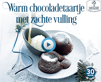 Warm Chocoladetaartje